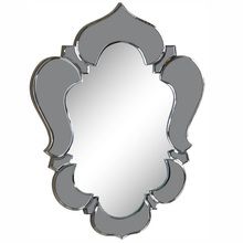 Elegant MR-2006GR - Venetian 20.7 in. Transitional Mirror in Grey & Clear