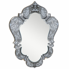 Elegant MR-2009GR - Venetian 20.7 in. Transitional Mirror in  Grey & Clear