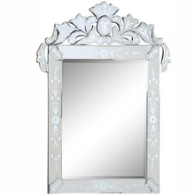 Elegant MR-2014C - Venetian 27.6 in. Transitional Mirror in Clear