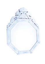 Elegant MR-2032 - Venetian 30 in. Transitional Mirror in Clear