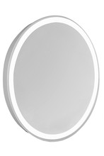 "Elegant MRE-6106 - 4 Sides LED Edge Electric Mirror Oval W21""H28"" Dimmable 5000K"