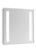 "Elegant MRE-6301 - 2 Sides LED  Electric Mirror Rectangle W20""H30"" Dimmable 5000K"