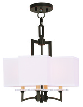 Livex Lighting 50704-67 - 4 Light OB Mini Chandelier/Ceiling Mount