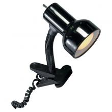 Satco Products Inc. SF76/226 - Black Clip On Goose Neck Lamp