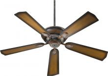 "Quorum 38525-58 - 52"" 5BL KINGSLEY FAN - MS"