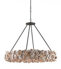 Currey 9672 - Oyster Circle Chandelier