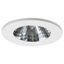 Nora NHID-4T415W - Faceted Specular Clear Reflector, White Ring, 15� Beam Spread