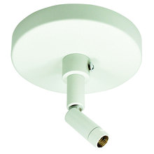 Nora NT-349S - Sloped Ceiling Adapter, Silver