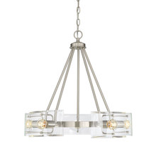 Savoy House 1-9500-5-SN - Cardella 5 Light Chandelier