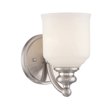 Savoy House 9-6836-1-SN - Melrose 1 Light Bath Bar