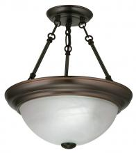 Light Concepts (Lithonia) 11782 BZ - Bronze Bowl Semi-Flush Mount