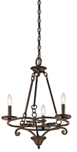 Kichler 43770AGZ - Mini Chandelier 3Lt