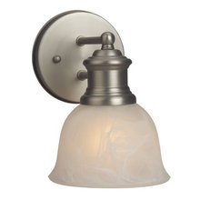 Craftmade 19805BN1 - Light Rail 1 Light Wall Sconce in Brushed Satin Nickel