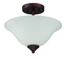 Craftmade 38252-OB - Arabella 2 Light Convertible Semi Flush/Pendant in Old Bronze