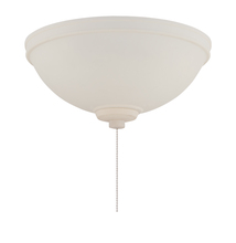 Craftmade LKE301AF-CFL - 3 Light Elegance Shade Fan Light Kit in Amber Frost with Amber Frost Glass