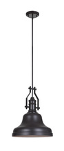 Craftmade P555OB1 - 1 Light Mini Pendant with Rods in Oiled Bronze