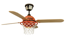 "Craftmade PS52BB4 - ProStar Basketball 52"" Ceiling Fan with Blades and Light in ProStar Basketball"