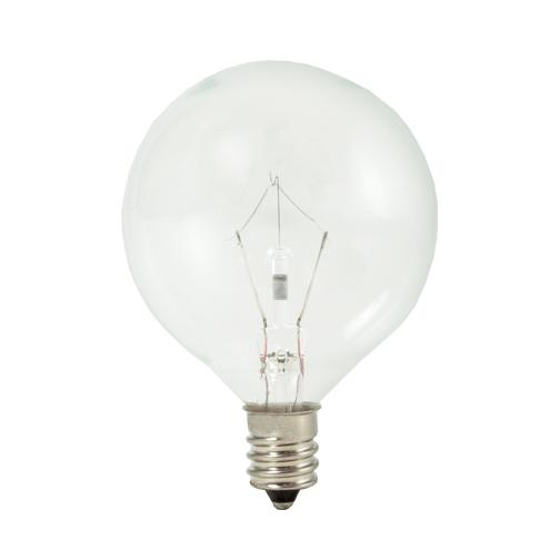 Sunbelt Lighting in HATTIESBURG, Mississippi, United States,  461260, .60W G16 KRYPTON CLEAR E12 120V, KX Collection
