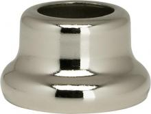 "Satco Products Inc. 90/2212 - Flanged Steel Necks 1/2"" Height-7/8"" Bottom Nickel Plated"