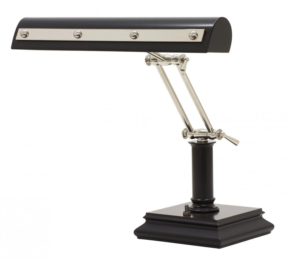 Sunbelt Lighting in HATTIESBURG, Mississippi, United States,  PR14-201-BLK/PN, Desk/Piano Lamp, Piano/Desk