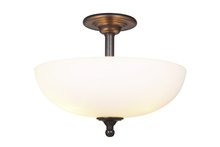 Jeremiah 39953-ESP - Brighton 3 Light Convertible Semi Flush/Pendant in Espresso