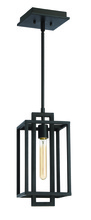 Jeremiah 41591-ABZ - Cubic 1 Light Pendant in Aged Bronze Brushed