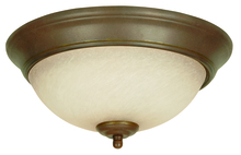 Jeremiah X711-AG - 2 Light Flushmount in Aged Bronze Textured