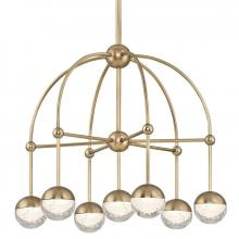 Hudson Valley 1227-AGB - 7 Light LED Chandelier