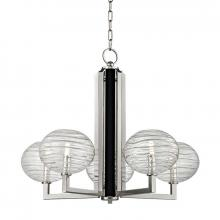 Hudson Valley 2415-PN - 5 Light LED Chandelier