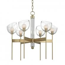 Hudson Valley 2806-AGB - 6 Light LED Chandelier