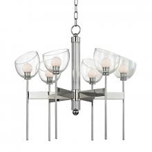 Hudson Valley 2806-PN - 6 Light LED Chandelier