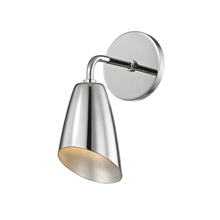 Hudson Valley H115101-PN - 1 Light Wall Sconce