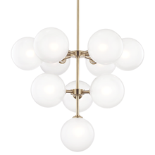 Hudson Valley H122810-AGB - 10 Light Chandelier