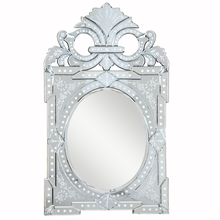 Elegant MR-2001C - Venetian 27.2 in. Transitional Mirror in Clear