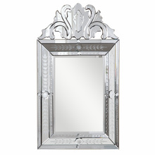 Elegant MR-2002C - Venetian 29.5 in. Transitional Mirror in Clear