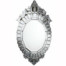 Elegant MR-2019C - Venetian 22.25 in. Transitional Mirror in Clear