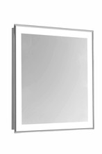 "Elegant MRE-6101 - 4 Sides LED Edge Electric Mirror Rectangle W20""H30"" Dimmable 5000K"
