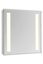 "Elegant MRE-6313 - 2 Sides LED  Electric Mirror Rectangle W24""H30"" Dimmable 3000K"