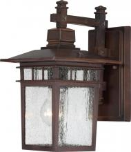 Nuvo 60-4952 - Cove Neck 1 Light Outdoor Wall